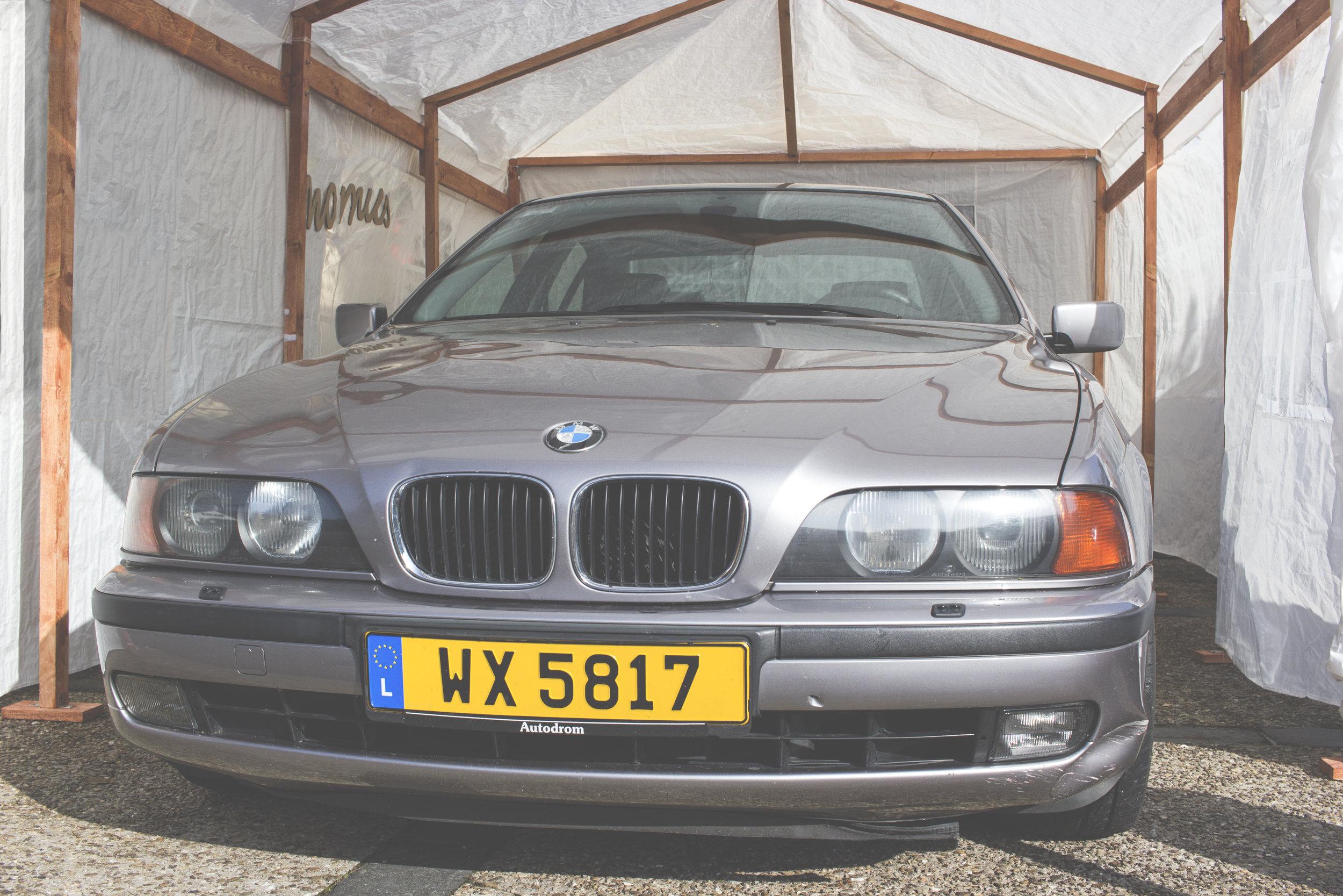 Mömus BMW E39 Pre Facelift pfl bumper front headlights