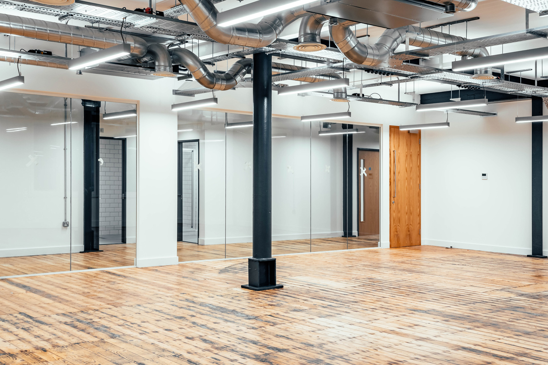 CAT A Fit Out //  Elbow Rooms, Leeds