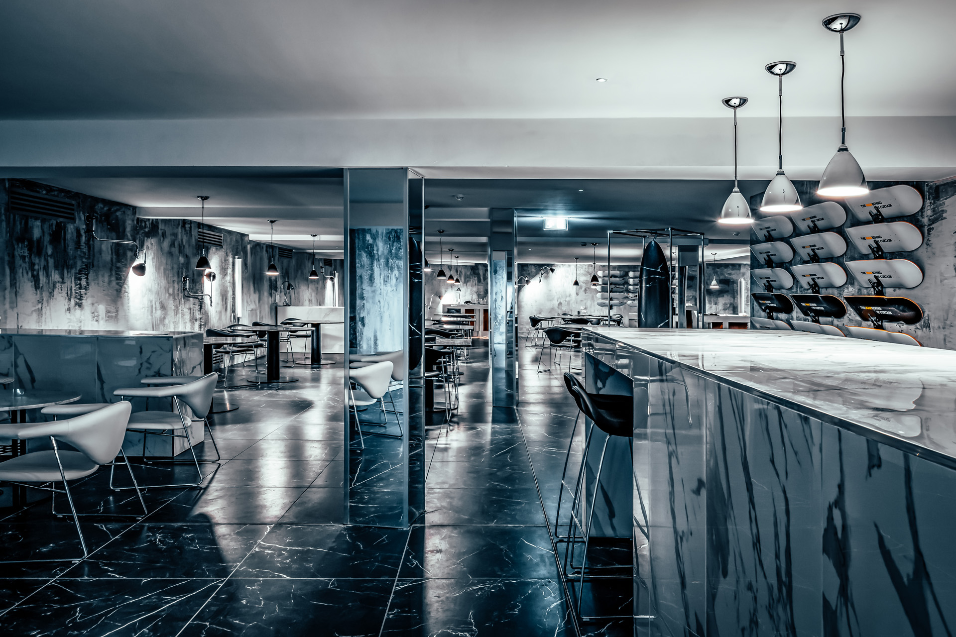 Offer an experience like no other with a stand-out interior //  The Man Behind the Curtain, Leeds