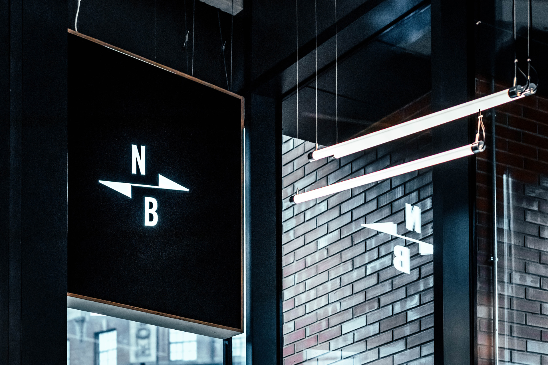 Instagrammable restaurant design to make your business stand out //  North Brewing Co, Leeds