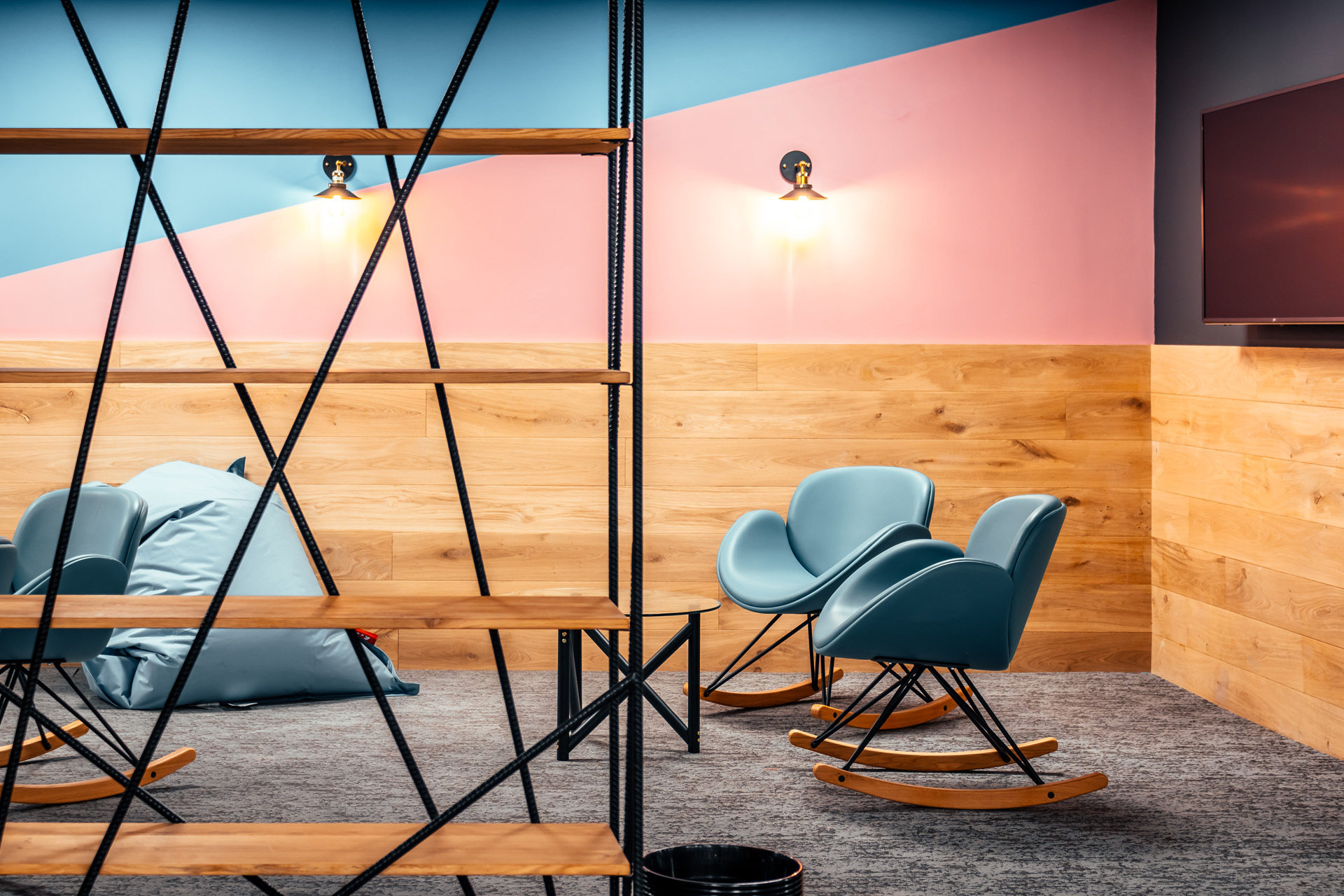Colour Scheme of TwentySix Digital's Office Refurbishment