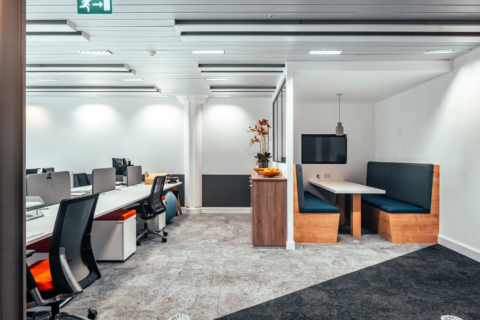 Open Plan Office Layout //  Brook-Dobson Brear, Harrogate