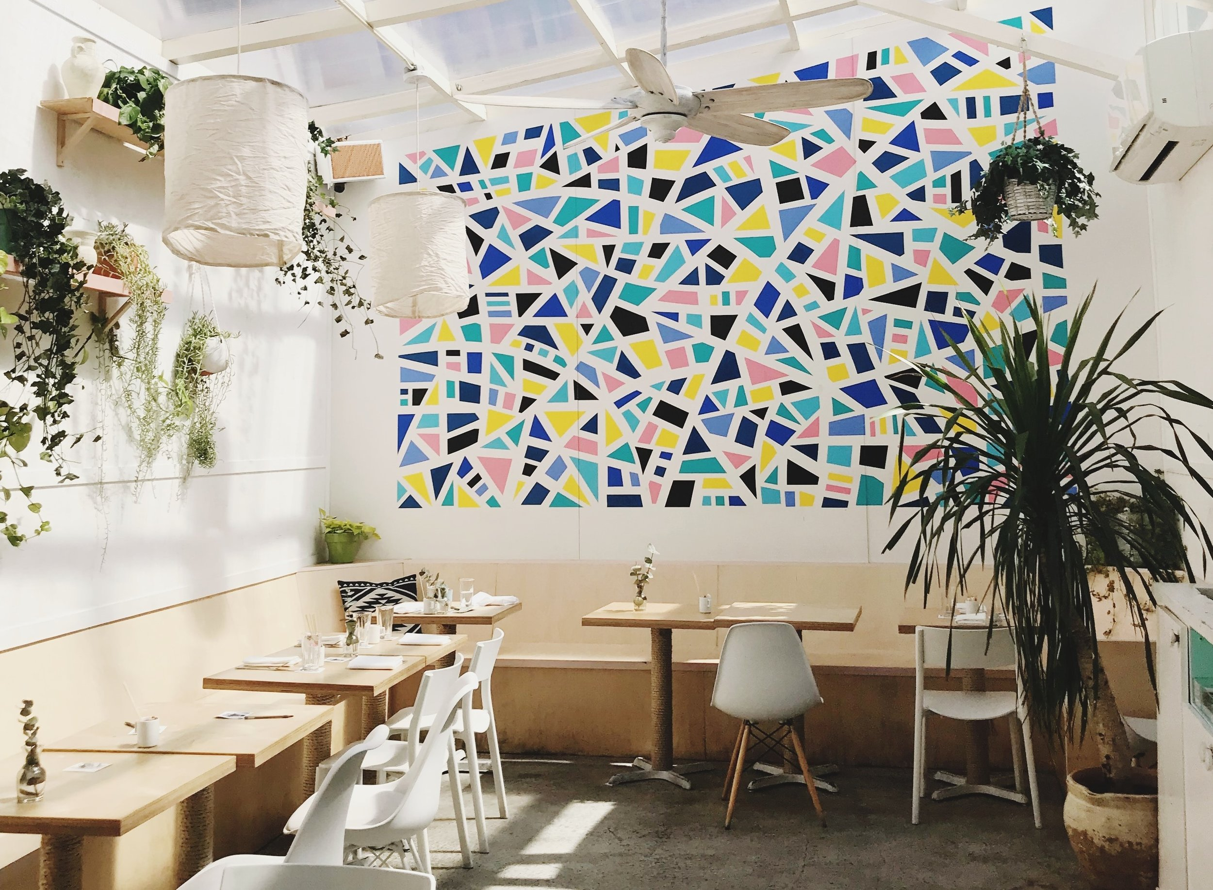 Restaurant Colour Scheme