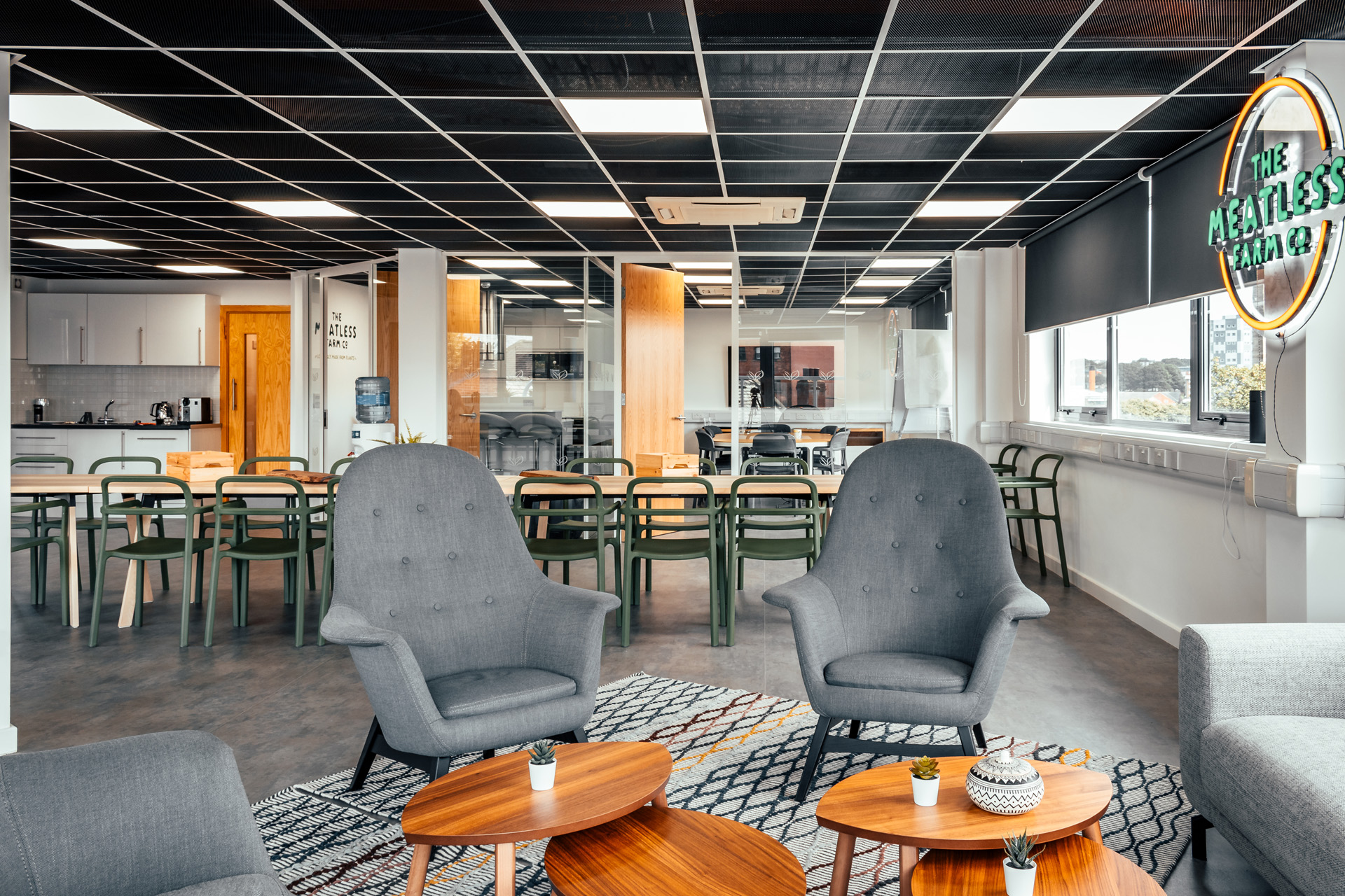 Breathe a new lease of life into a space to refresh your work environment