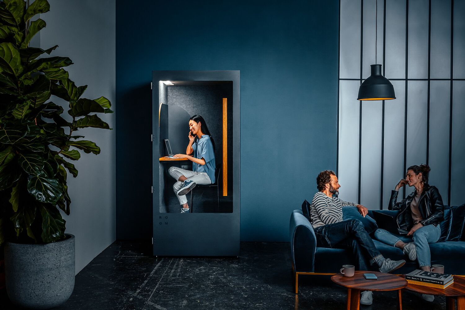 Space to hear yourself think: open plan environments need flexibility in order to suit different work habits