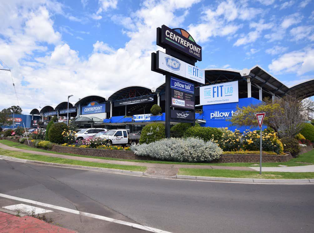 Centrepoint on James, Toowoomba