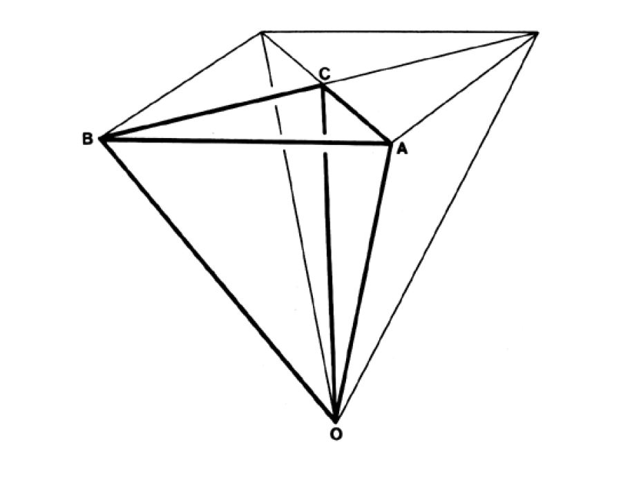 Fig. 986.411C - T Quanta Module dereived from the Rhombic Triacontahedron