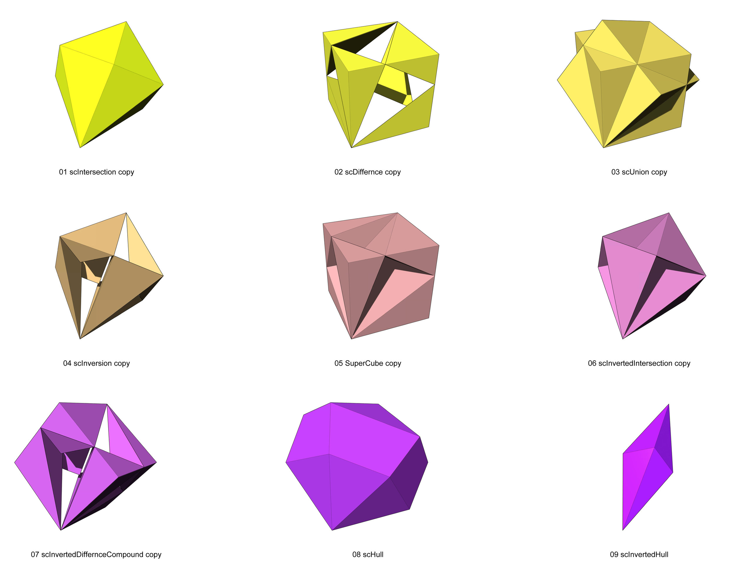 SuperCube Variations