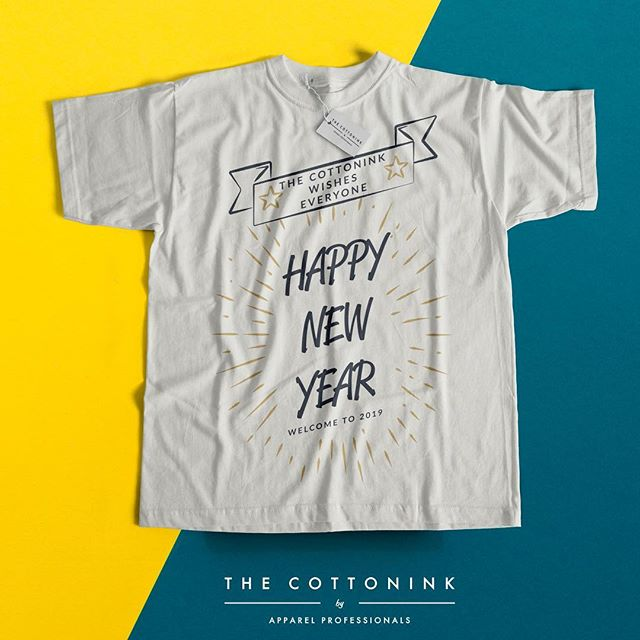Happy New Year to everyone from the team here at The Cottonink! Thanks for the support from 2018....Let's go 2019! 😁👕🧢 - - - #Tshirtprinting #Tshirtprintingmalaysia #TshirtprintingKL #inks #design #logo #customtees #Tshirtshop #shirtstyle #packaging #Tshirtprint #Tshirtcustom #cetakbaju #tshirtlovers #printedTees #tshirtonline #thecottonink #prints #Apparel #holidayseason #family #newyear #design #2019 #letsgo #Thecottonink