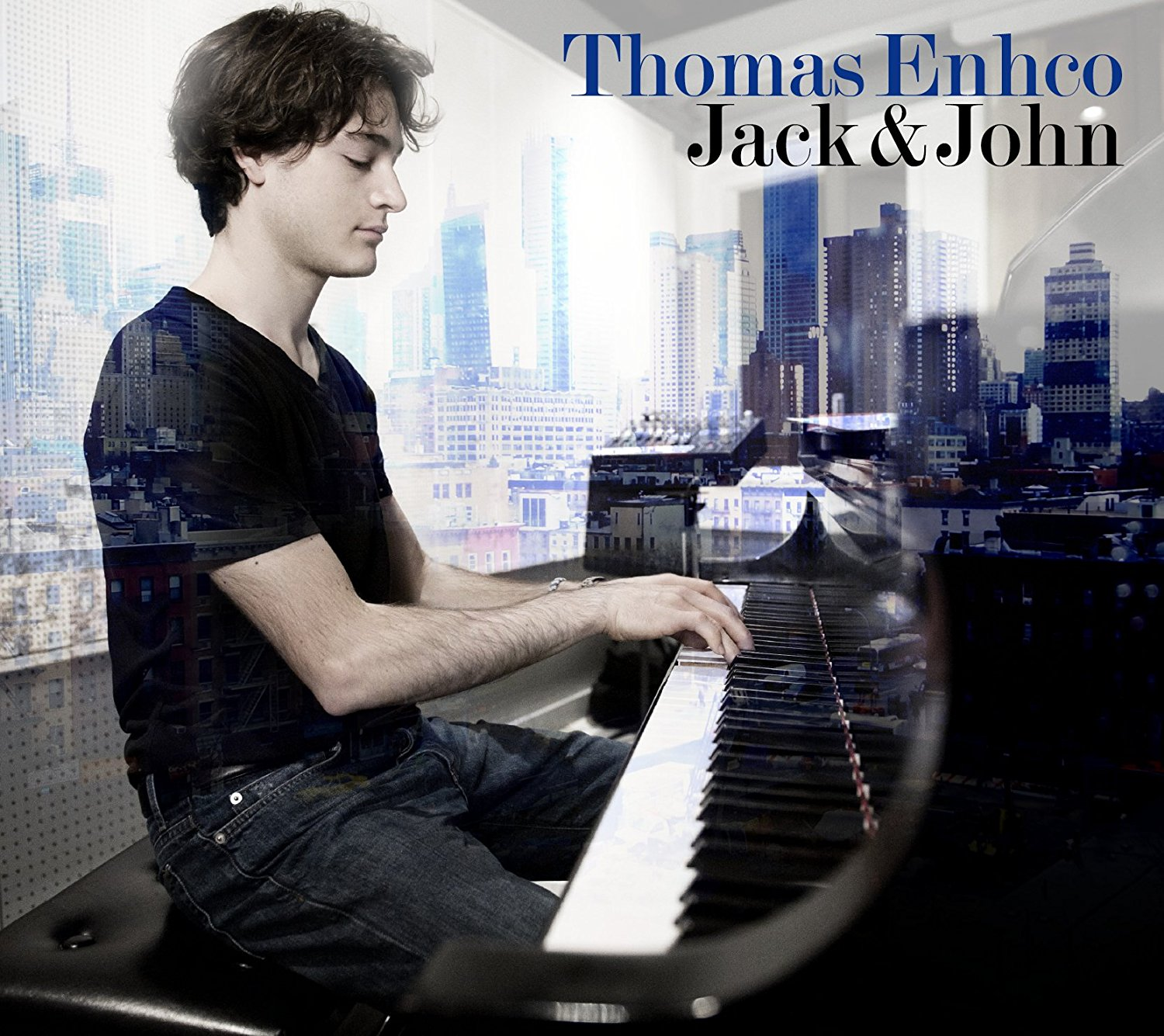 Thomas Enhco with Jack Dejohnette and John Patitucci -  Jack & John  (2012)