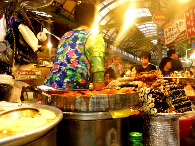 Playing 'Russian Roulette' with Korean street food...