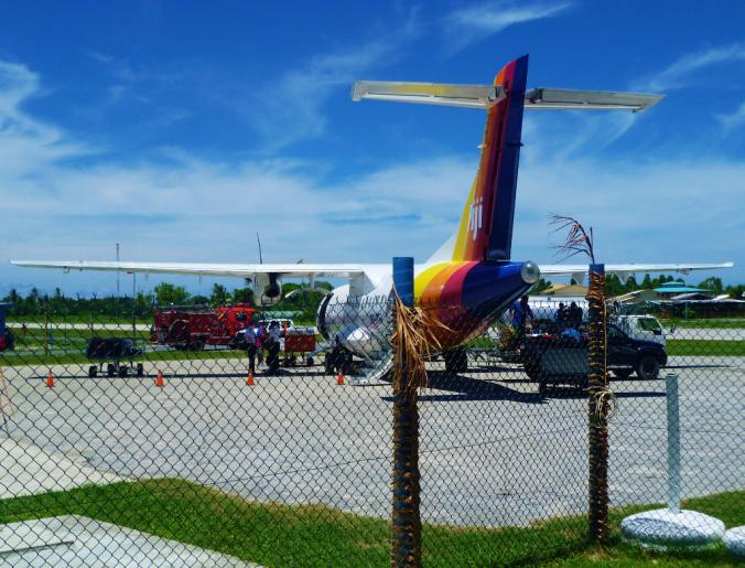 My plane on my final 'plane day'...
