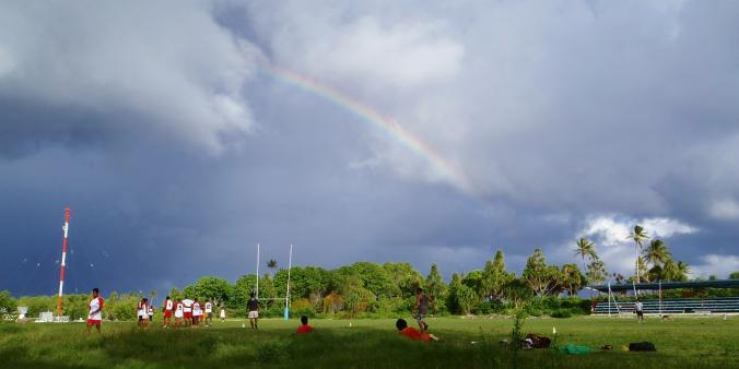 Tuvalu's answer to Twickenham...