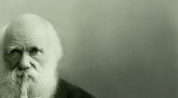 Charles Darwin pondering his important work...