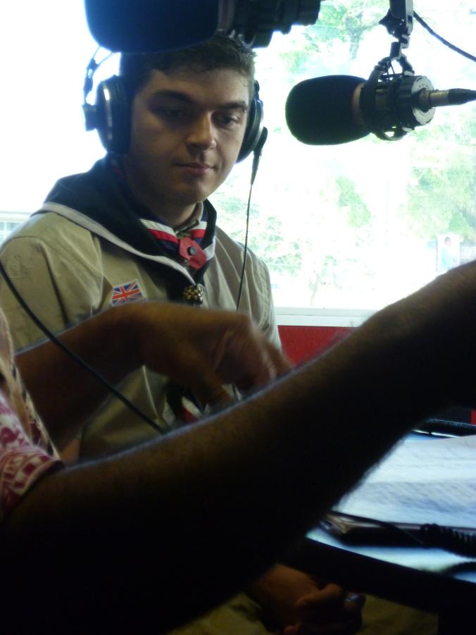My foray into Fijian radio...