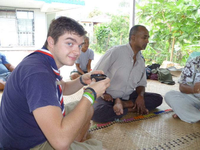 Casual afternoon of  kava  drinking...