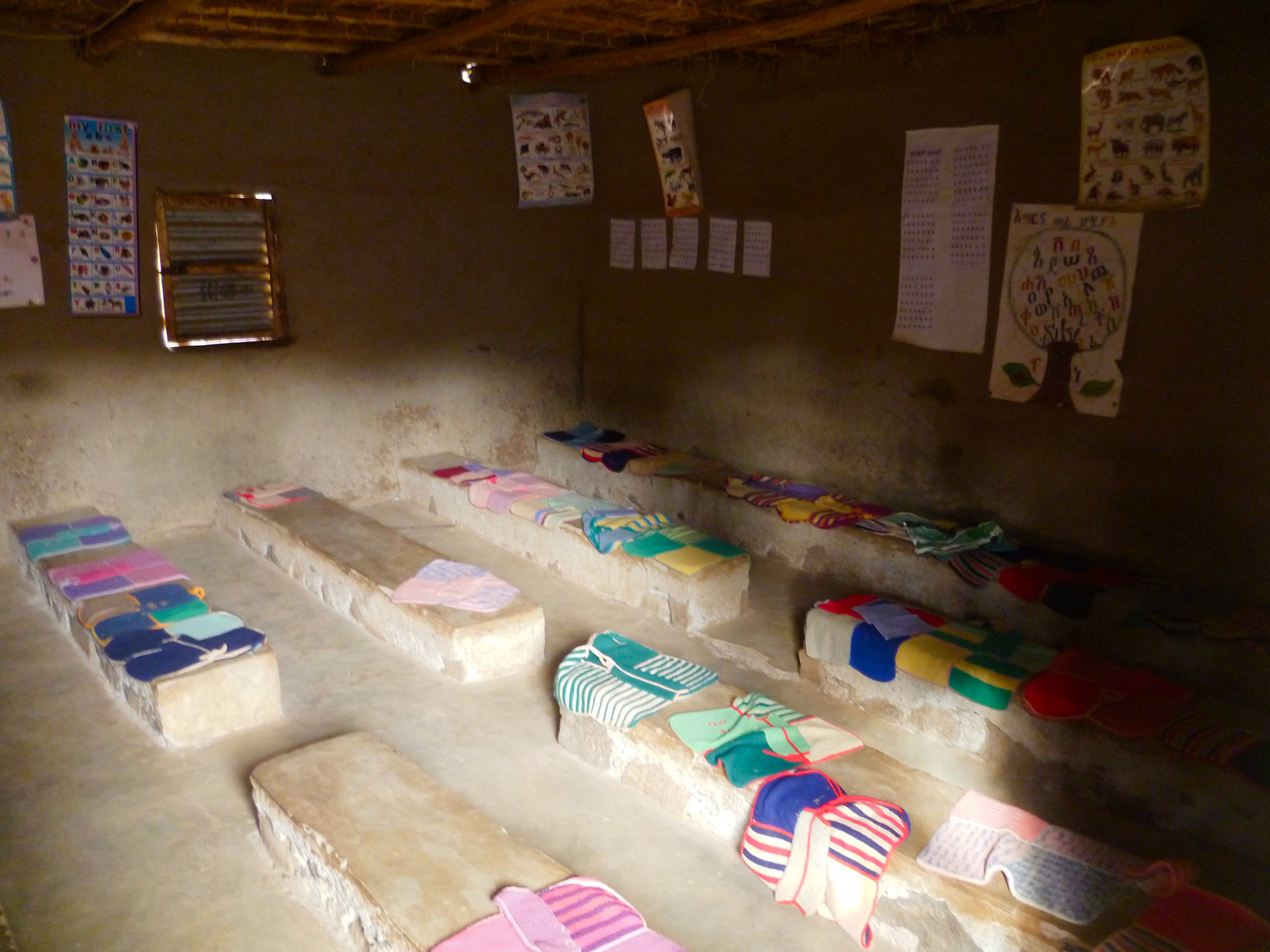 The simple and functional community kindergarten...