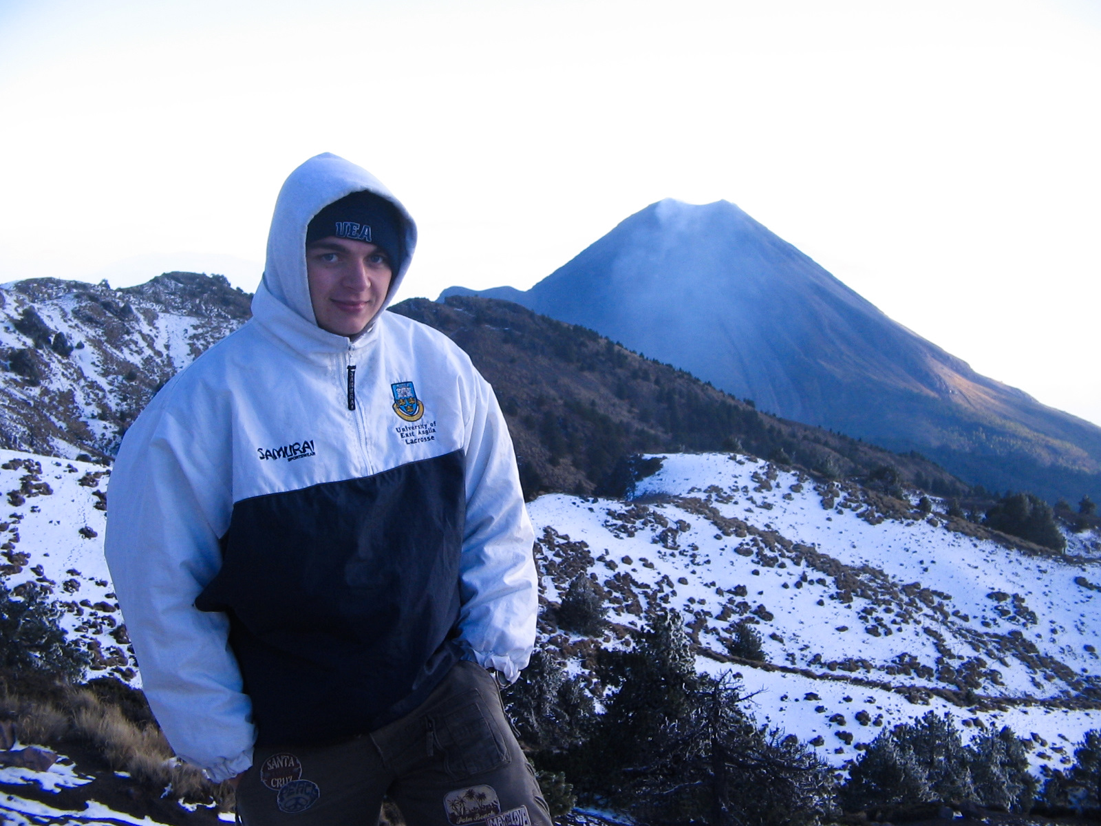 Enjoying the Mexican sunshine at 4200m...