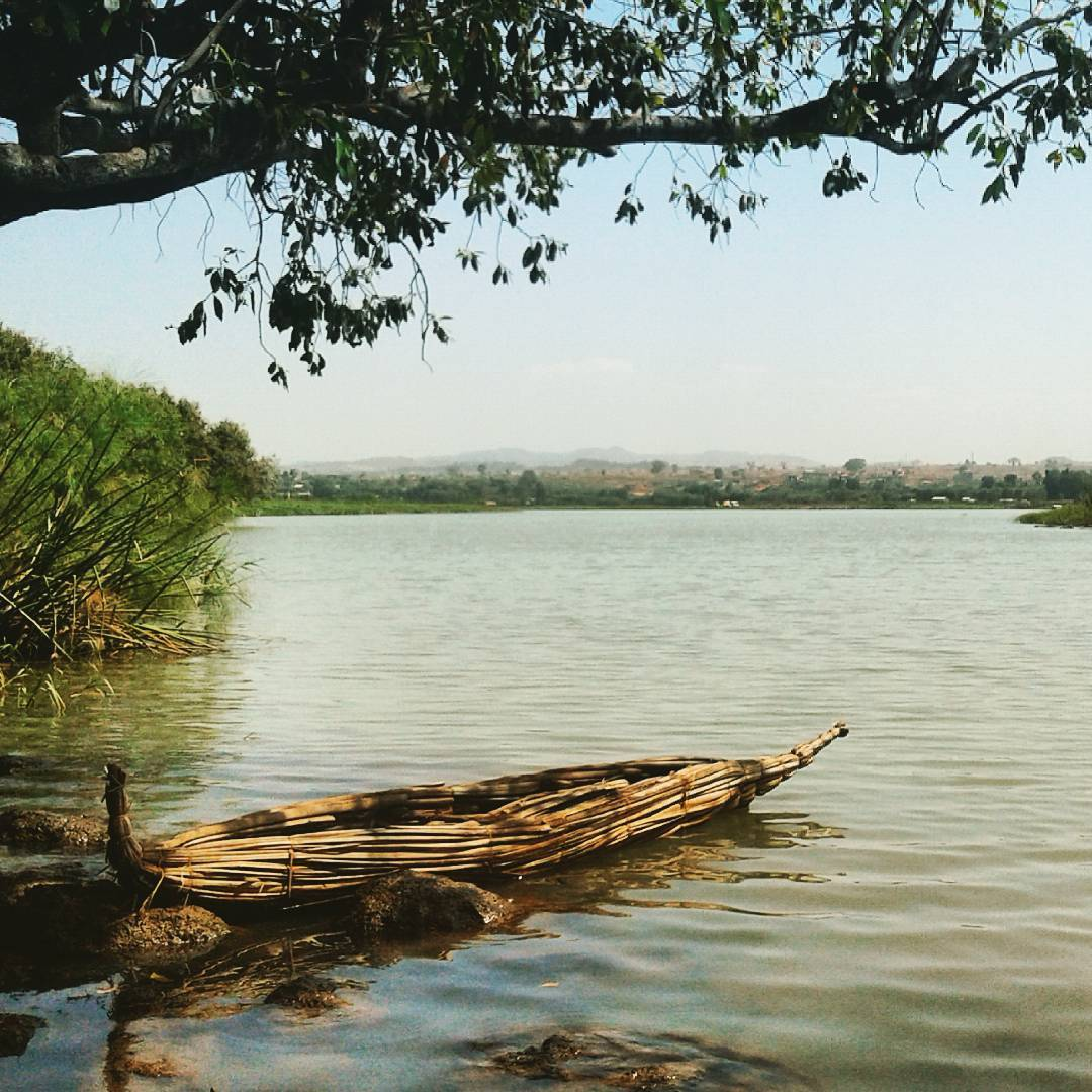 Geographically Significant, Lake Tana in Ethiopia , the source of the Blue Nile...