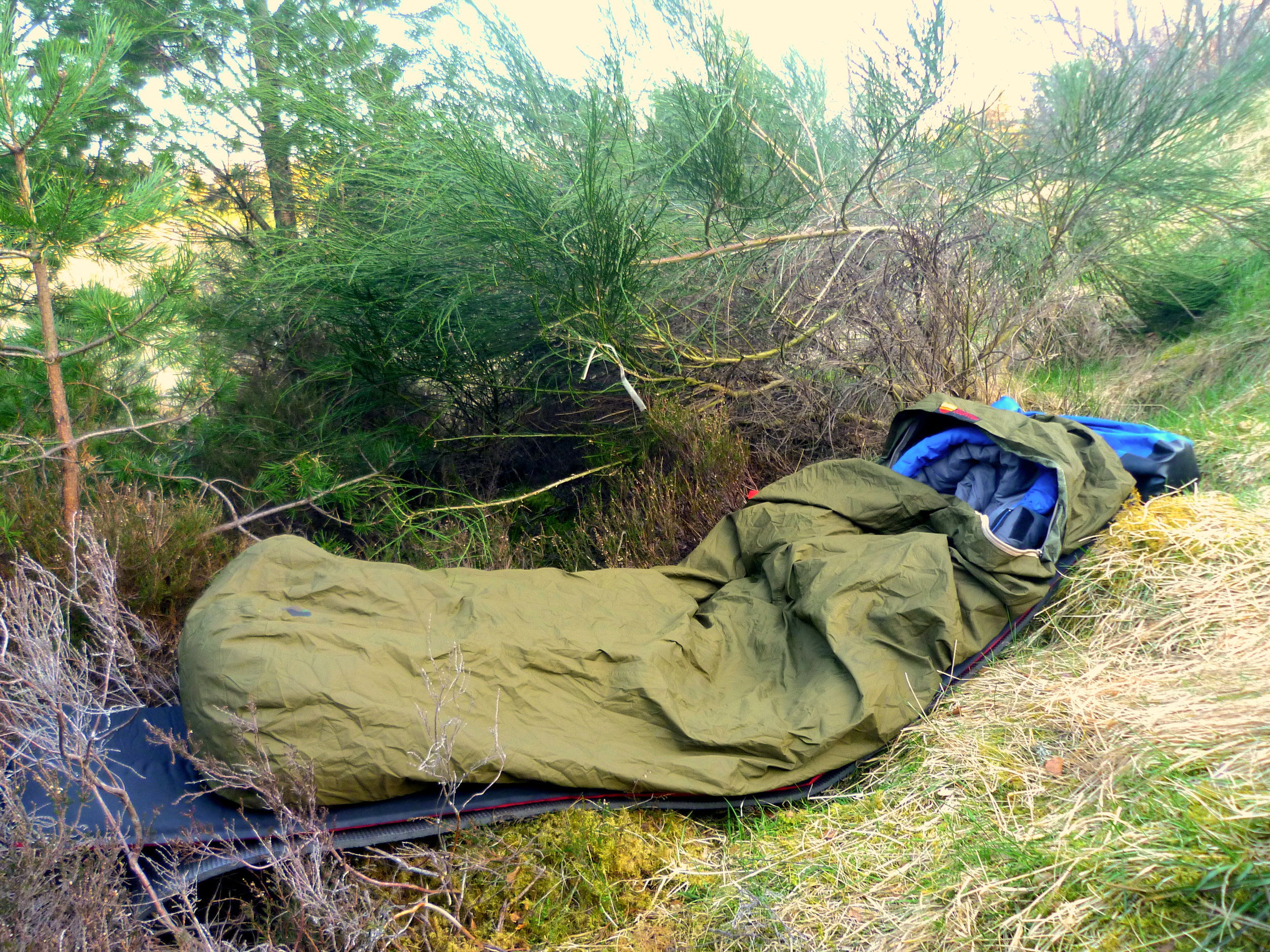 You don't need much gear to get out there and have a go at Wild Camping…