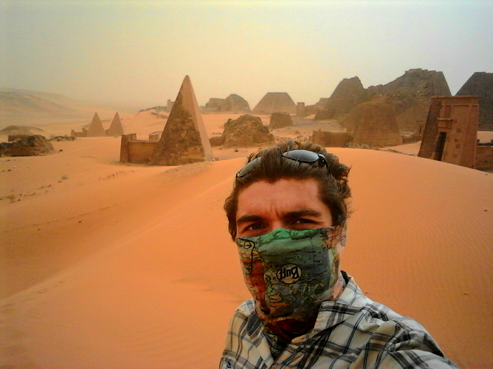 Pyramid Selfie…