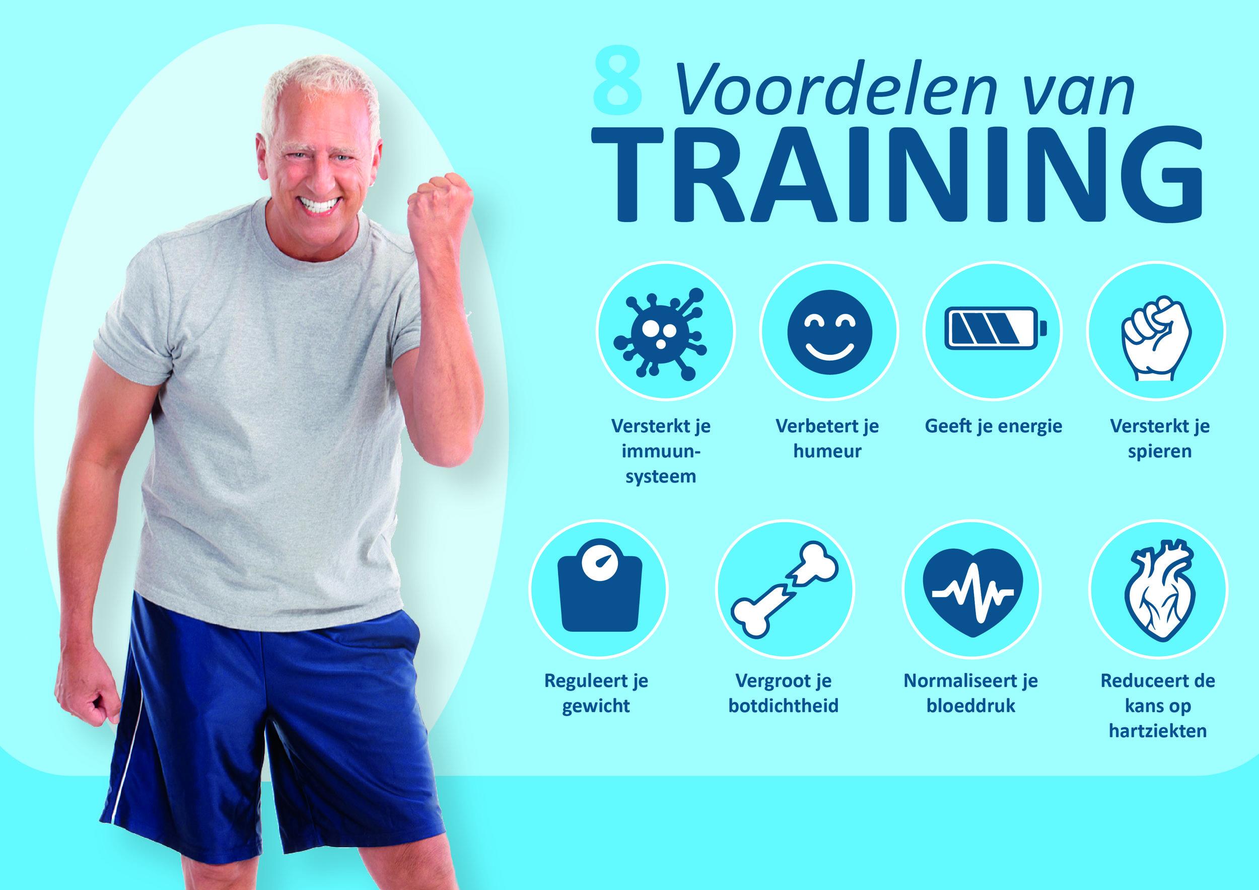 De 8 voordelen van training