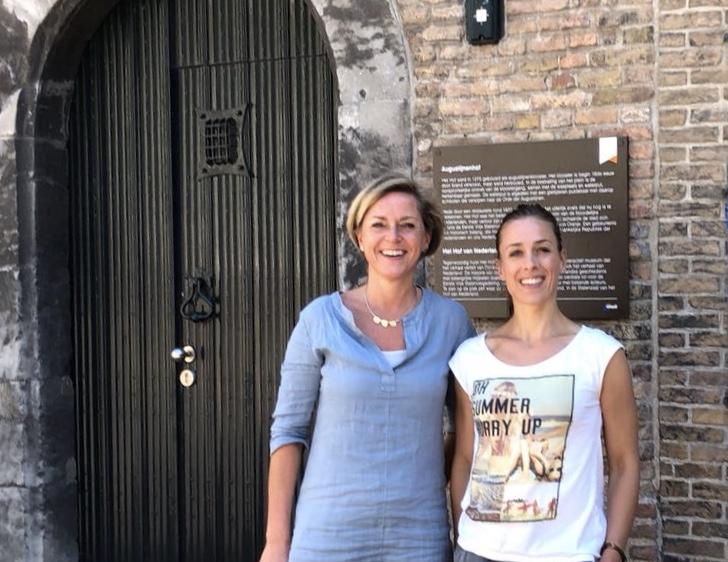Caroline & Mariska in Dordrecht