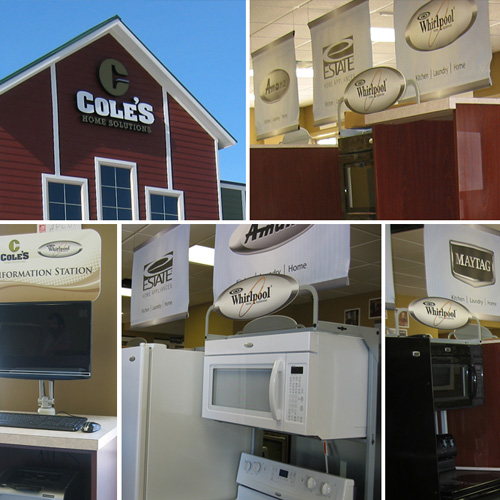 <strong>Cole's</strong> - Merchandising / Shop-in-Shop