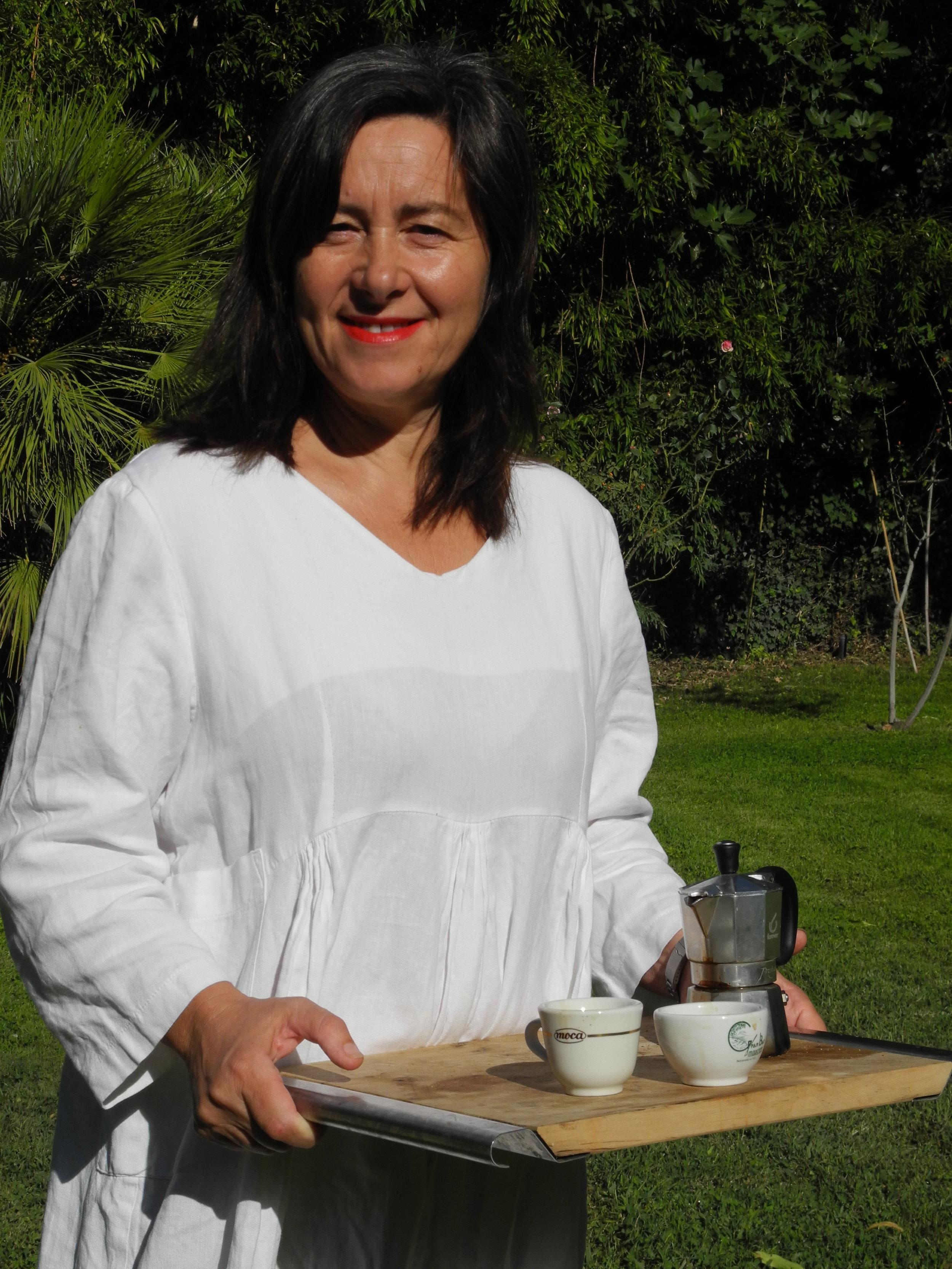 Susanna, www.tastetrailsrome.com , cooking holidays Rome