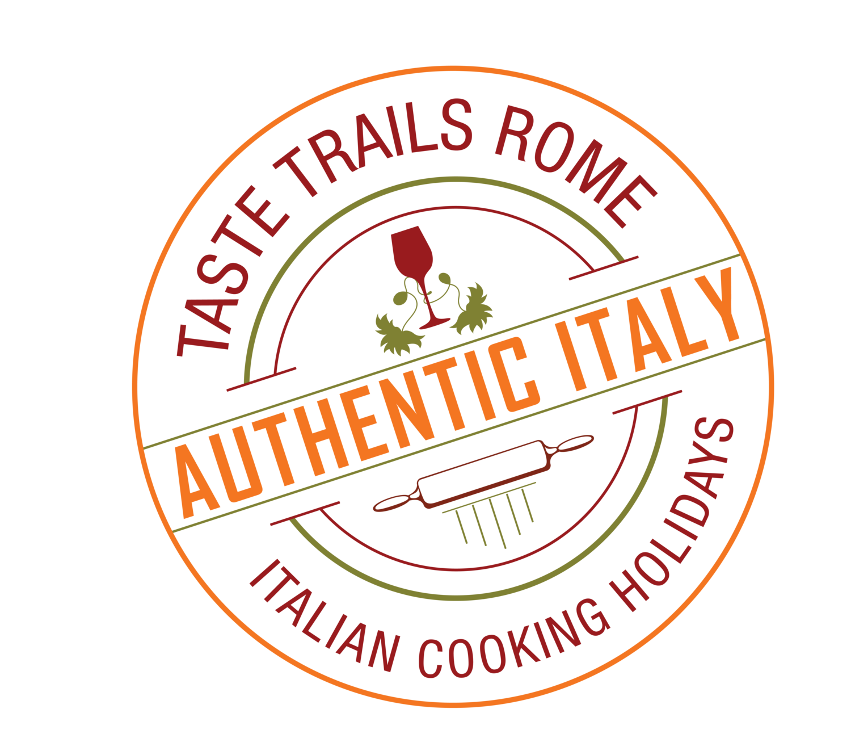 logo www.tastetrailsrome.com | cooking holidays Italy