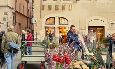 Italian Cooking Holiday tastetrailsrome.com Il Forno Campo de'Fiori