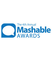 Mashable Award   Projekt:  Rail Adventures  Kategorie: Best Social Media Kunde: Eurail Jahr: 2010 Awarded to: Eurail