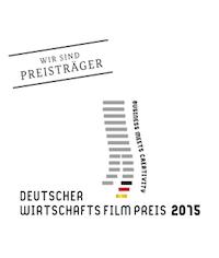 Deutscher Wirtschaftsfilmpreis 2015   Projekt:   TenseMakesSense   Kategorie: 2. Preis in der Katgorie Filme in neuen Medien Kunde: Joachim Herz Stiftung Jahr: 2015