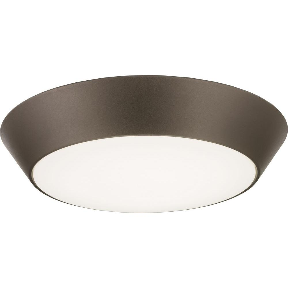 exteriorceiling mounted - Lithonia LED Versi Lite 13 Ceiling Fixture, Textured Bronze, 3000k, Wet Loc.jpg