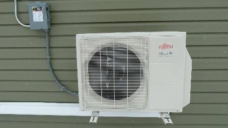 Split system outdoor compressor