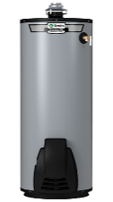 Water heater with built-in heating element