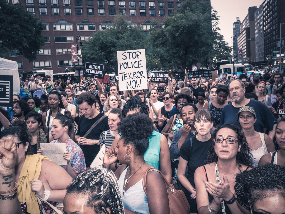 #stoppoliceterror #blacklivesmatter Rally - Union Square Park, NYC - 7.7.16 (1 of 1).jpg