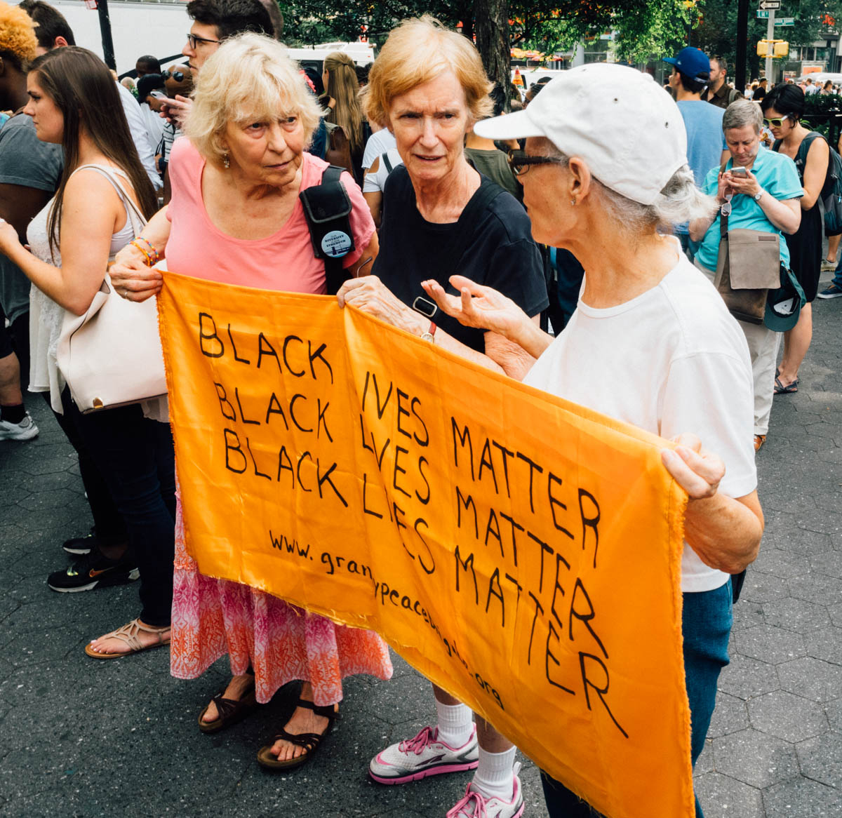 GrannyPeaceBrigade.org #stoppoliceterror Rally - Union Square Park, NYC 7.7.16 (1 of 1).jpg