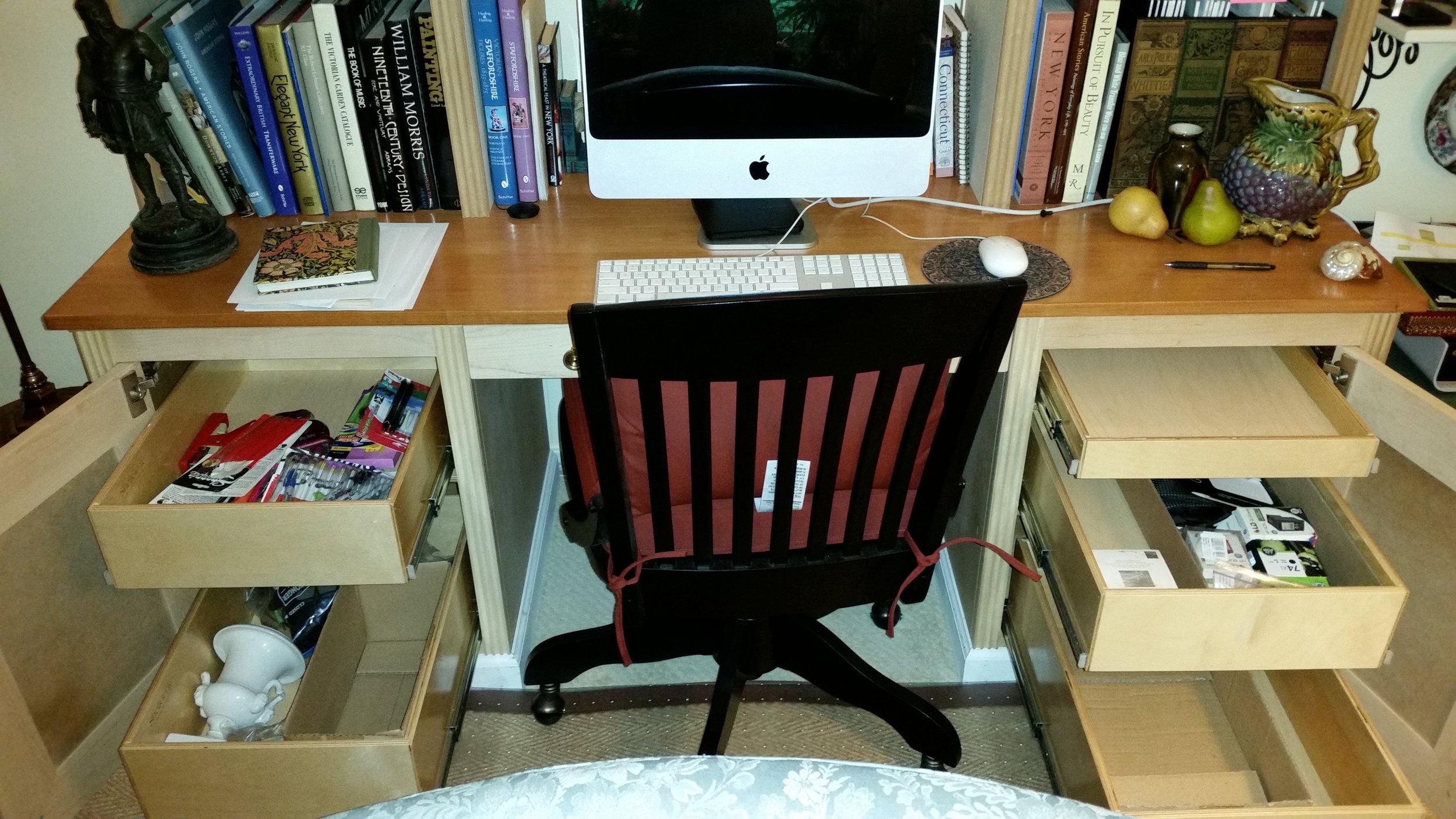 Shelf Genie Office Desk