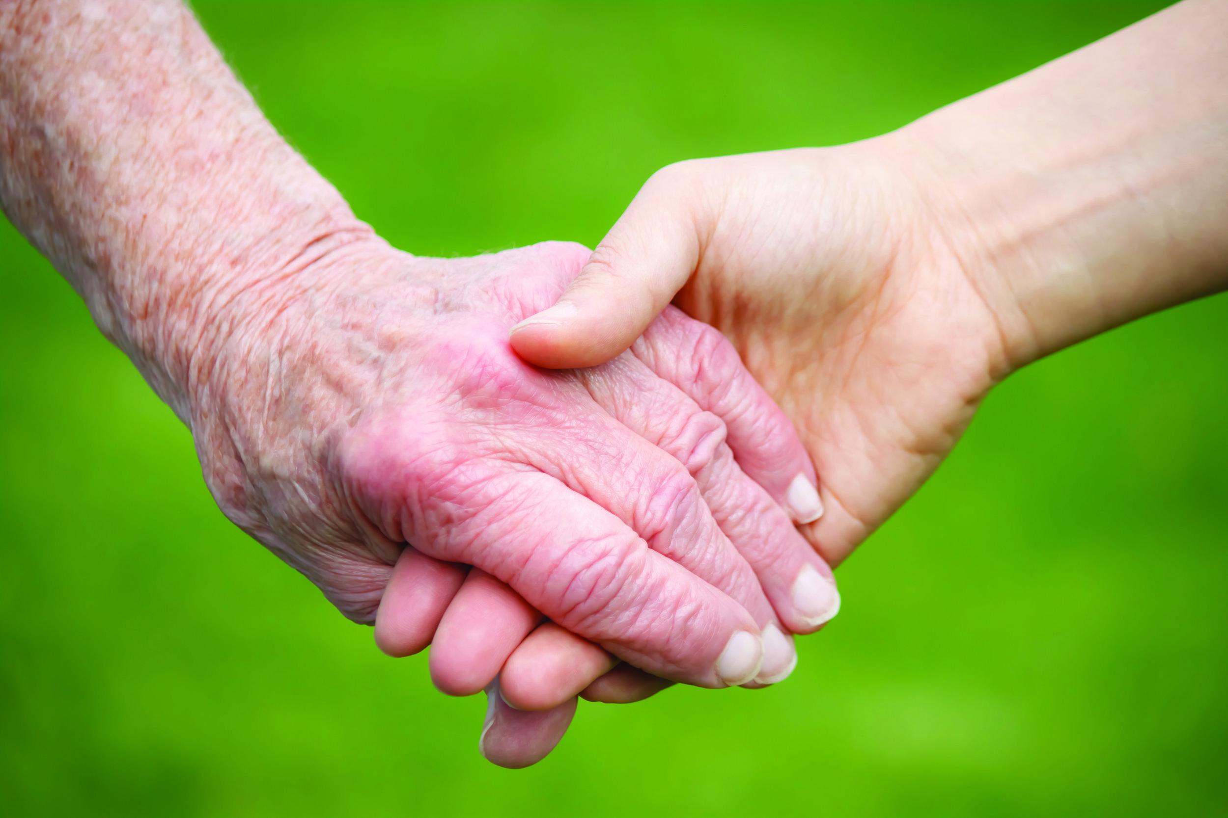 Oasis Senior Advisors Hands