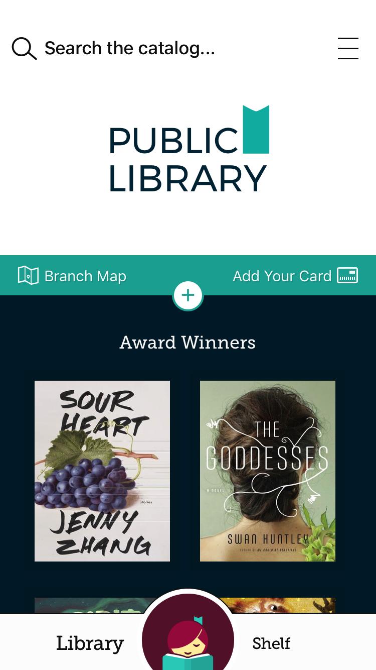 Libby Library App