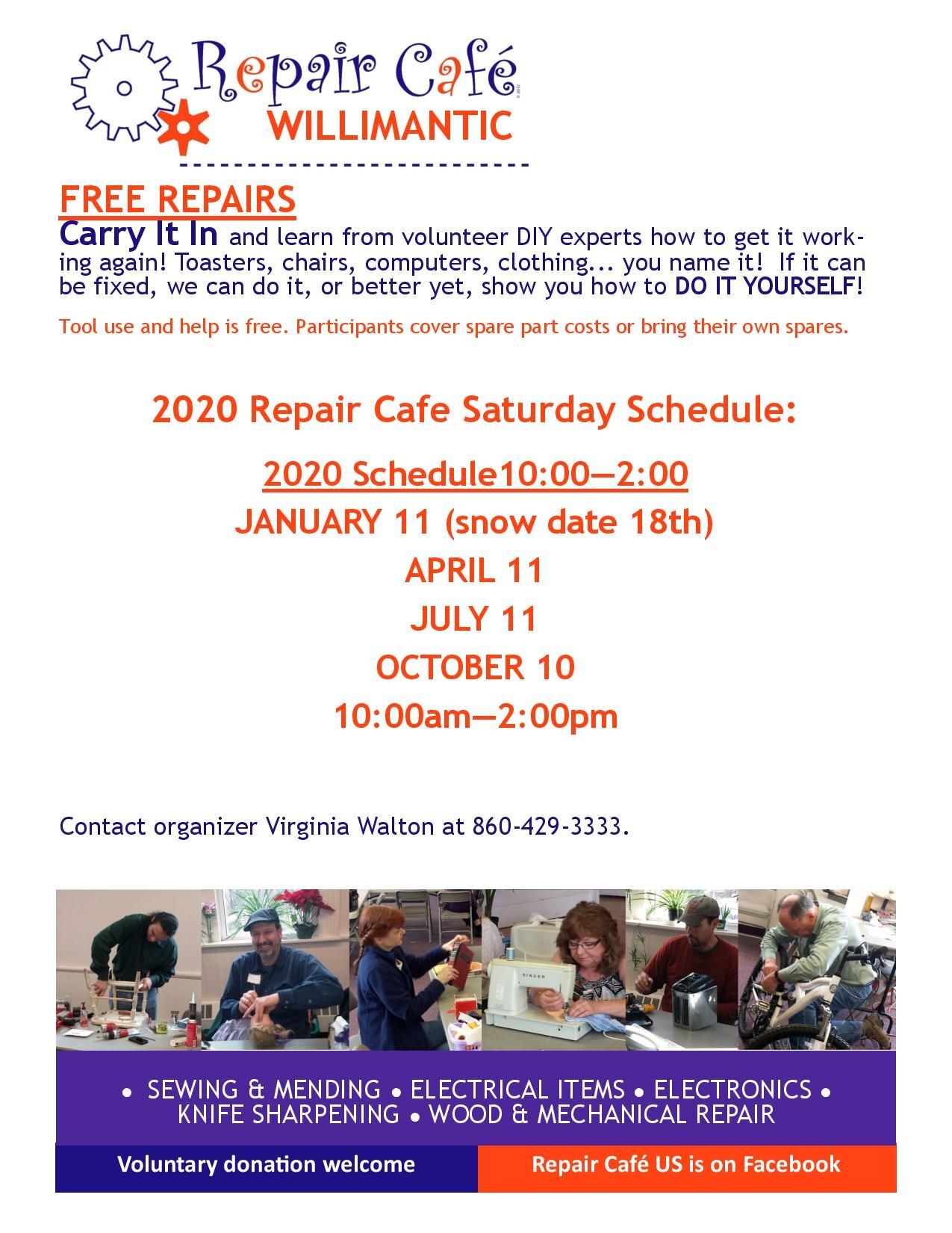 repair dates