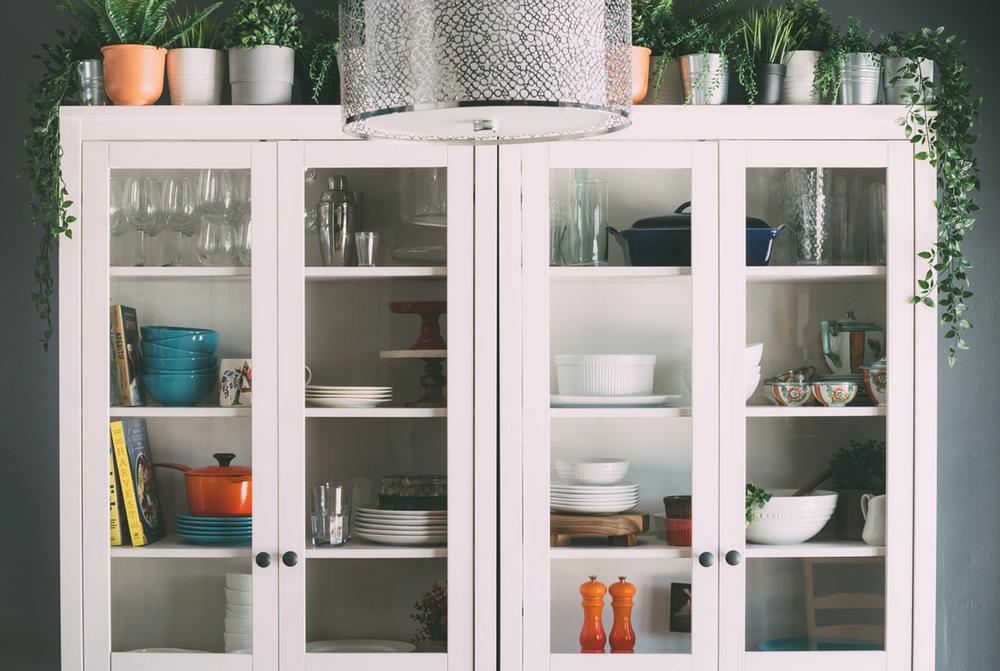 Glass Door Kitchen Cabinets, Glass Kitchen Cabinet Doors