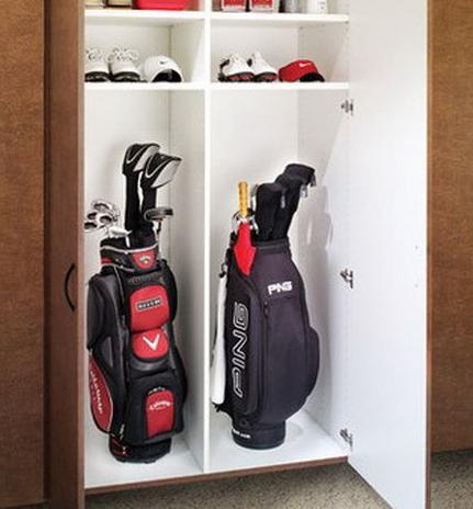 Guest Post Golf Equipment Storage, Golf Club Storage Garage