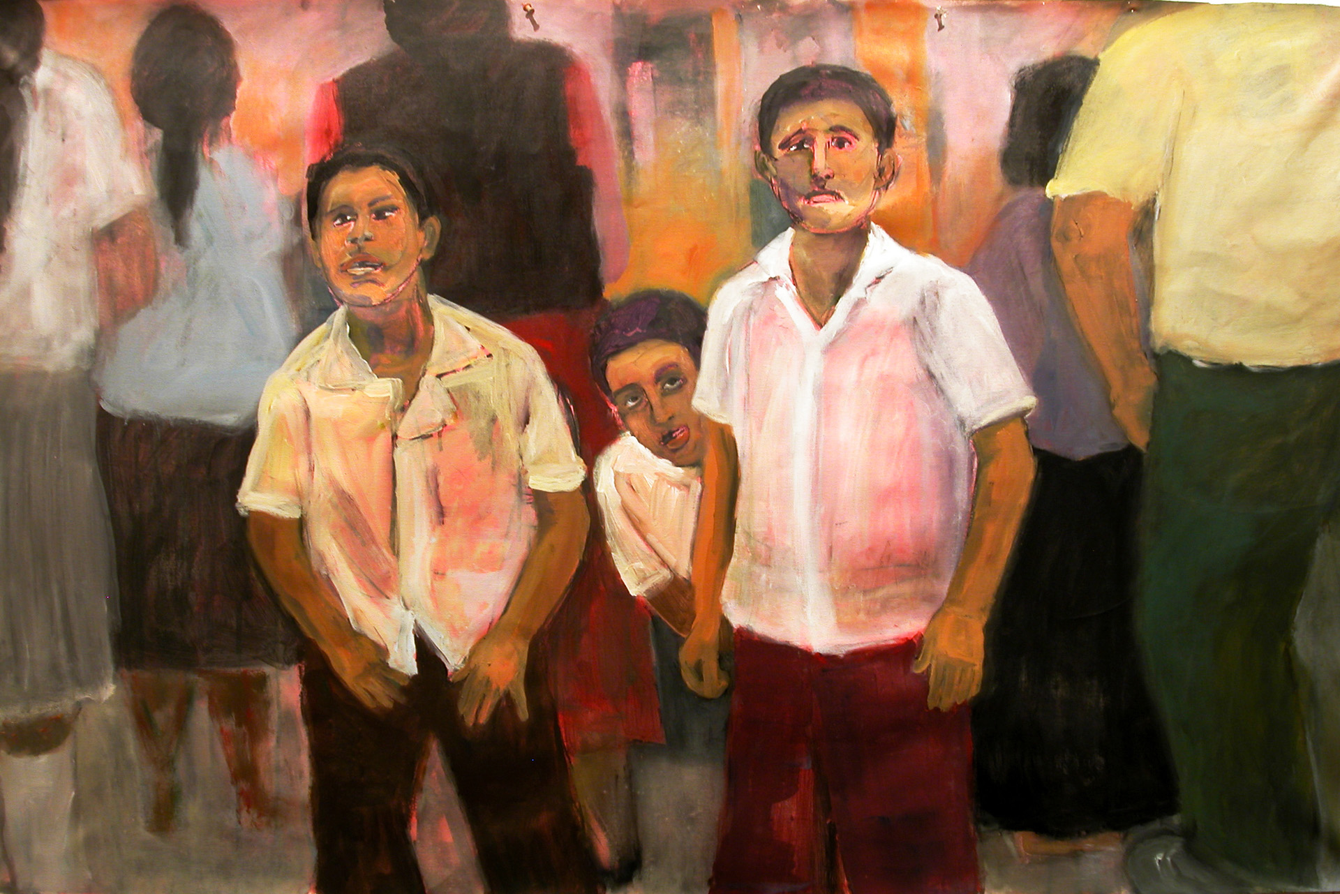 Three Boys in Papantla