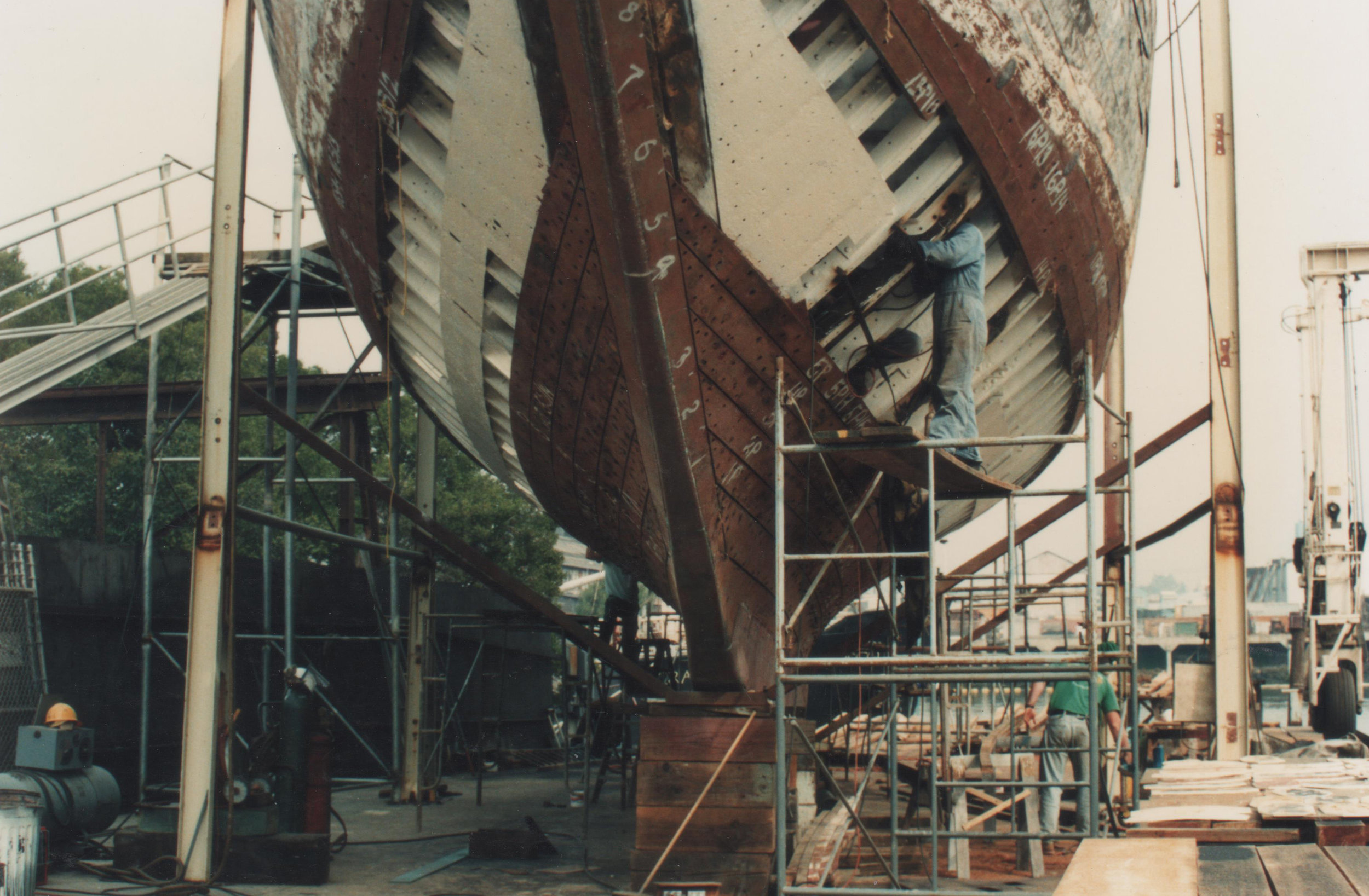EROS - hull backing plates exposed.jpg