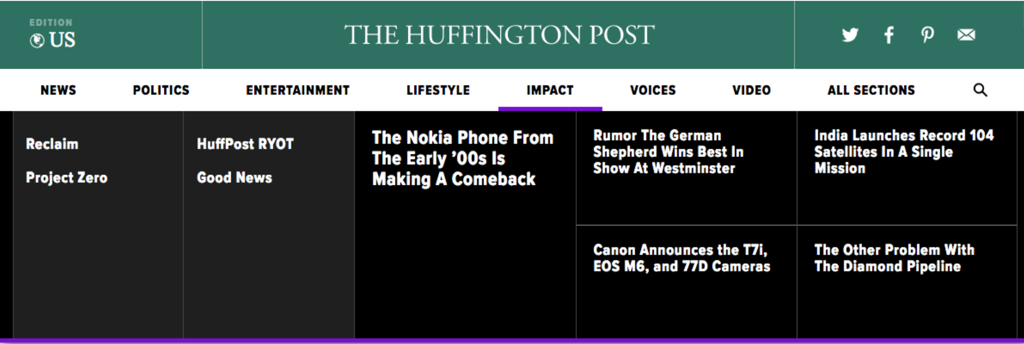 Huffington Post Navigation Bar.png