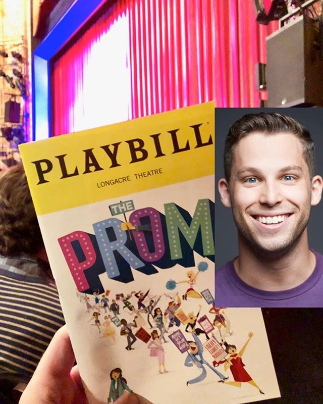 It's OPENING NIGHT! Happy opening to The Prom Musical on Broadway and especially to Open Jar Alum Jack Sippel! We're so proud of you. Break a leg!!