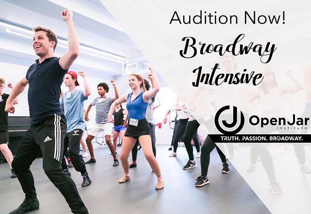 Our national audition tour kicks off today in sunny Florida! Don't miss your chance to be a part of Broadway's next generation this summer in New York City. Visit our website to audition now!#openjarinstitute