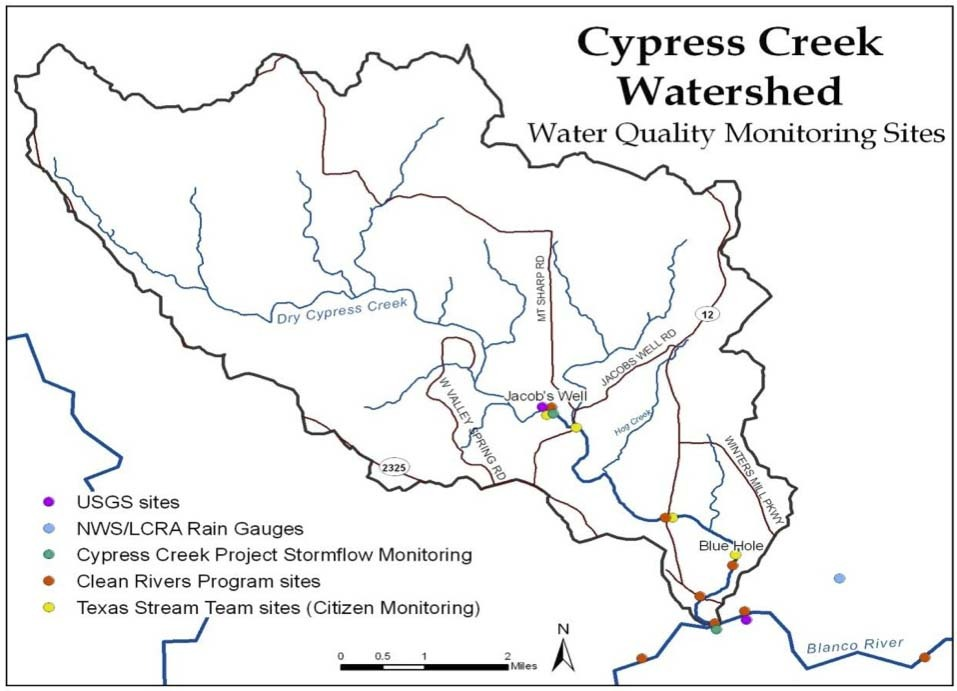 Water Quality Monitoring Sites